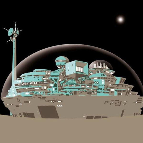 Foto ilustracion libro espacial
