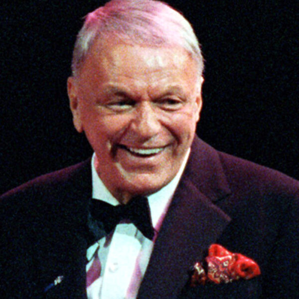 ** ADVANCE FOR SUNDAY, MAY 4 ** FILE **  This is a Dec. 13, 1990 file photo of Frank Sinatra  during a concert on his 75th birthday at the Meadowlands Area in East Rutherford, N.J.,  Sinatra of Hoboken, N.J.,  is among 15 famous New Jerseyans selected as the first inductees to the New Jersey Hall of Fame.(AP Photo/Bill Kostroun, File)